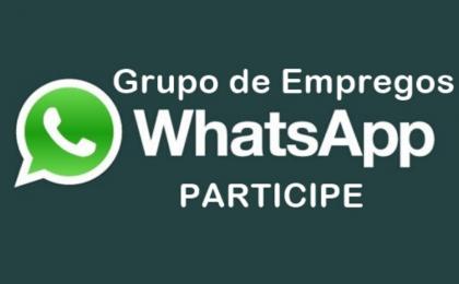 grupo de empregos whatsapp e facebook