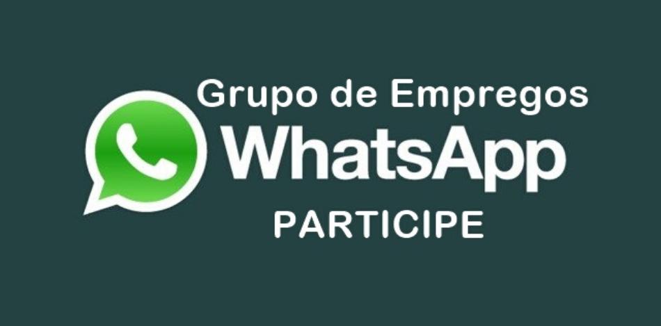 Grupos de Emprego Whatsapp e Facebook